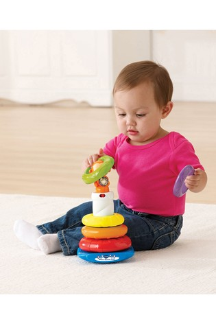 VTech Baby Stack And Discover Rings 166303