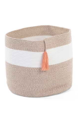 Childhome Cotton Rope And Tassel Basket