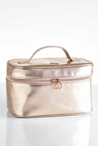 Rose Gold Vanity Bag