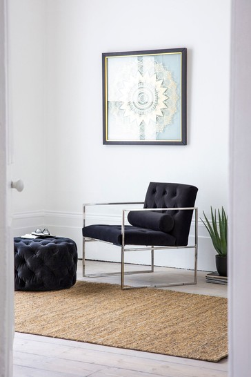 Sergio Navy Armchair By Hudson Living