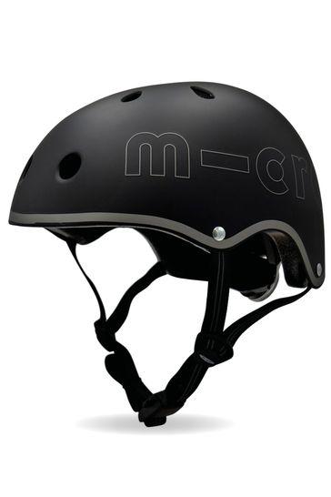 Micro Scooter Childrens Deluxe Helmet Black