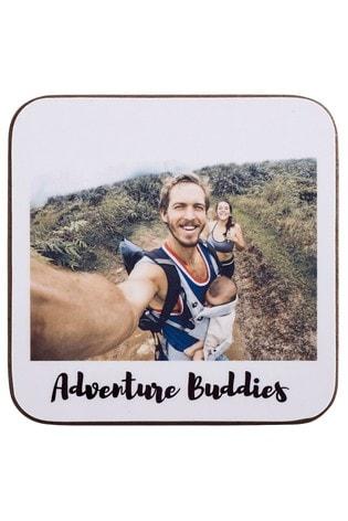 Personalised Photo Upload Retro Coasters by Instajunction