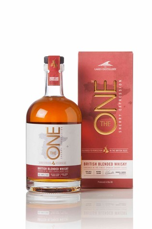 """""""The One"""" Sherry Cask Finished British Blended Whisky by The Lakes Distillery"""