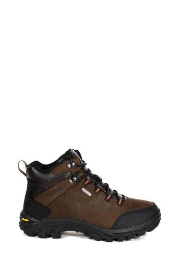Regatta Burrell Leather Waterproof Walking Boots