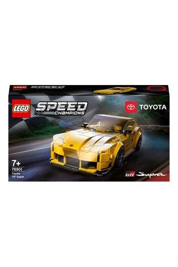 LEGO 76901 Speed Champions Toyota GR Supra Racing Car Toy