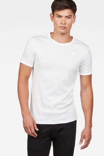G-Star White Base T-Shirt Two Pack