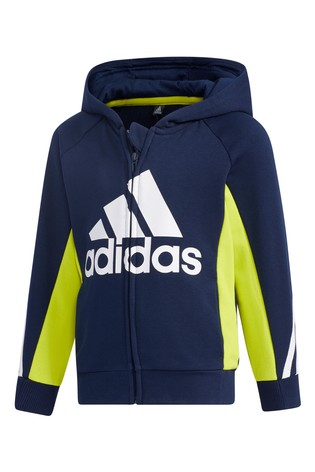 adidas Little Kids Navy Tracksuit