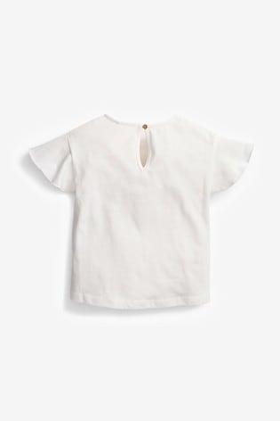 Ecru Girl T-Shirt (3mths-7yrs)