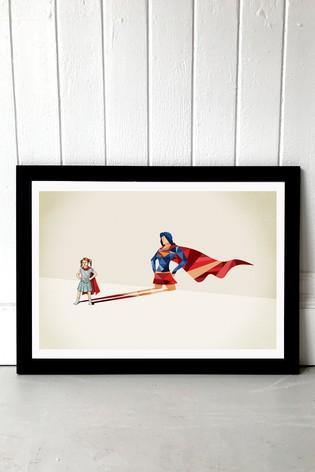 Heroine by Jason Ratliff Framed Print