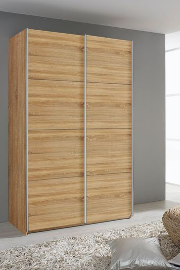 Cameron 1.36m Sliding Wardrobe by Rauch