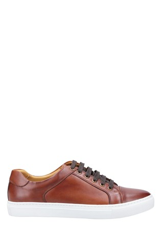 Steptronic Brown Yale Lace-Up Shoes