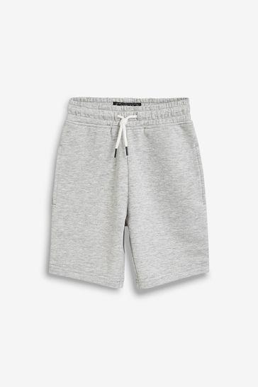 Light Grey Jersey Shorts (3-16yrs)