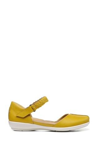 Hotter Lake Wide Fit Touch Fastening Mary Jane Shoes
