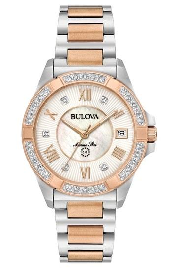 Ladies Bulova Marine Watch Bracelet