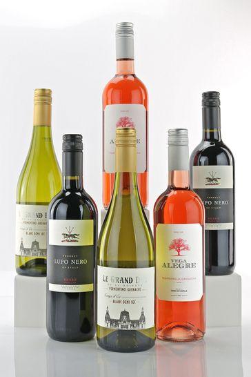 Le Bon Vin Mixed Wine Half Case 75cl