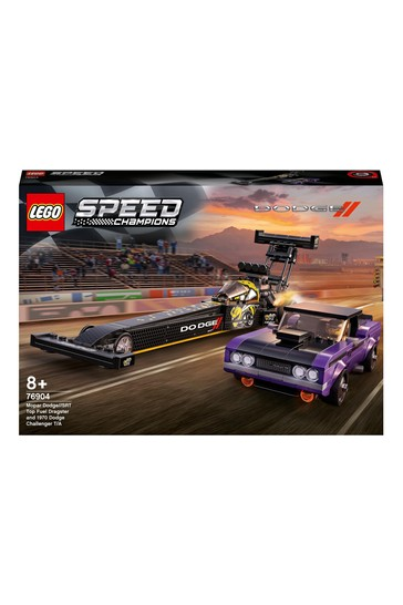 LEGO 76904 Speed Champions Dragster & Muscle 2 Race Cars