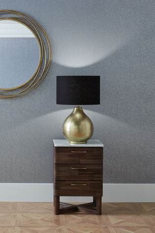 Pacific Brass Souk Hammered Metal Table Lamp