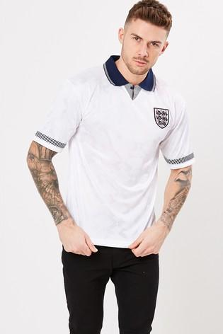 Score Draw England 1990 World Cup Finals Retro Jersey Shirt