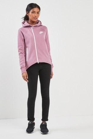 Details about Nike Sportswear Tech Fleece Women's Full Zip Cape Hoodie M Gray New