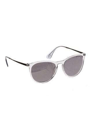 Animal Grey Spotlight Round Slim Frame Sunglasses