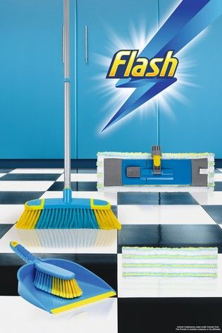 Flash Floor Clean Kit With Flat Mop by Wham