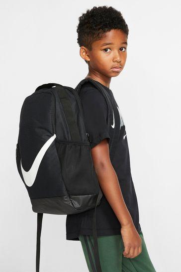 Nike Kids Black Brasilia Backpack