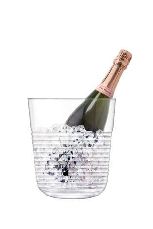 LSA International Groove Champagne Bucket