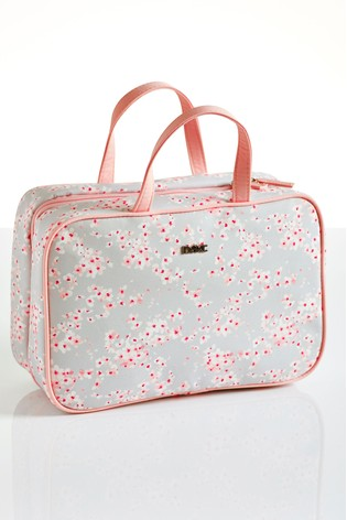 Folding Blossom Make Up Bag