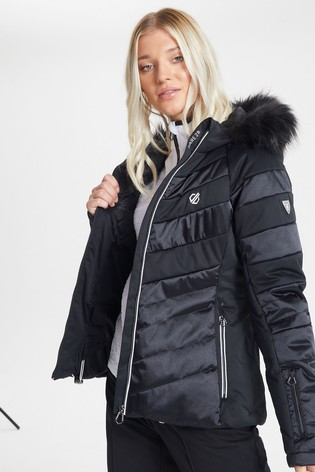 Dare 2b Black Dazzling Waterproof Ski Jacket