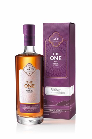 """The One"" Port Cask Finished Blended Whisky by The Lakes Distillery"