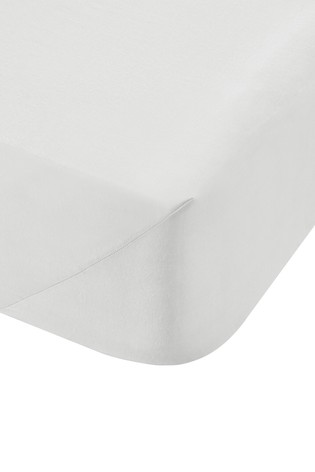 200 Thread Count Cotton Percale Fitted Sheet by Bianca