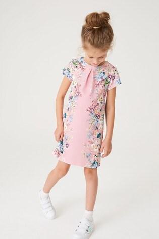 Pink Floral Dress (3-16yrs)