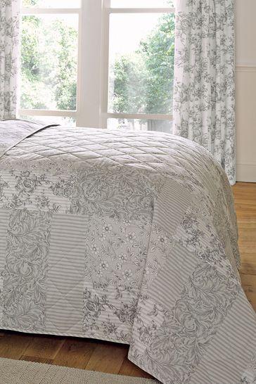 D&D Grey Malton Bedspread