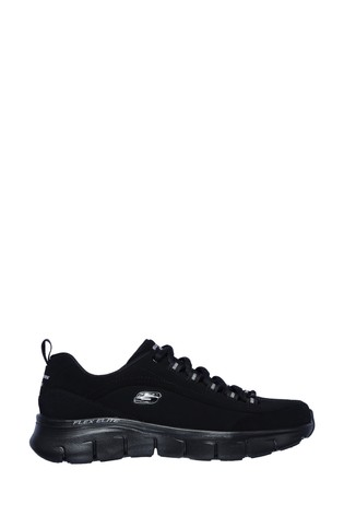 leather upper trainers