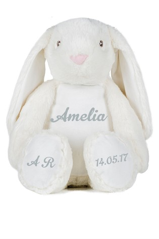 Personalised Cuddly Bunny by Instajunction