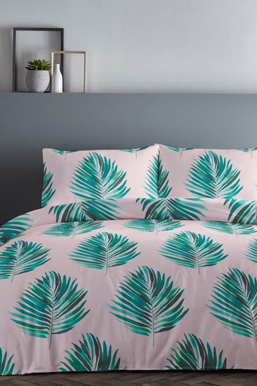 Fusion Leaves Duvet Cover and Pillowcase Set