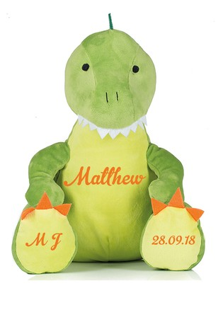 Personalised Cuddly Dinosaur by Instajunction