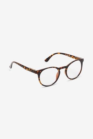 Tortoiseshell Effect Blue Light Blocking Glasses