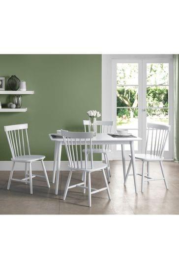 Set Of 2 Julian Bowen Torino Dining Chairs