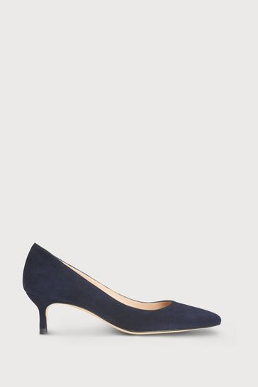 L.K.Bennett Audrey Suede Court Shoes