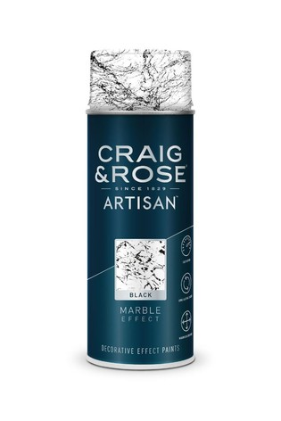 Craig & Rose Black Marble Effect Spray Paint