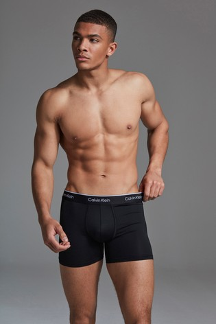 Calvin Klein Black Active Trunk Two Pack