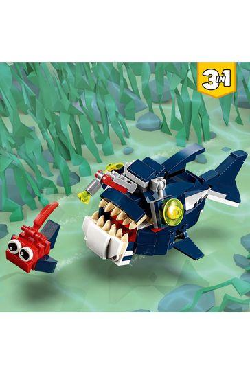 LEGO® 3-in-1 Deep Sea Creatures Animal Toys 31088