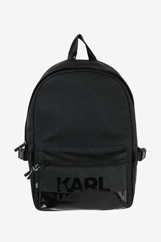 Karl Lagerfeld Black Backpack