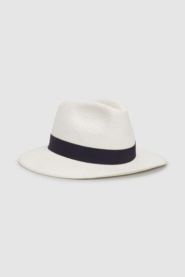 Ecru Christys' London Panama Hat