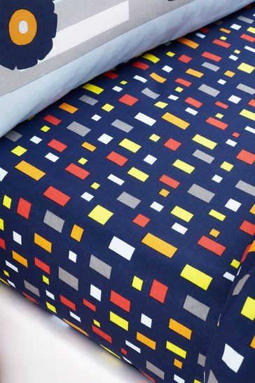Construction Easy Care Fitted Sheet by Catherine Lansfield