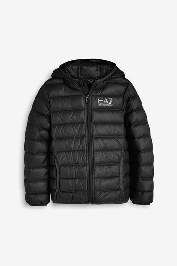 Emporio Armani EA7 Zip Logo Jacket