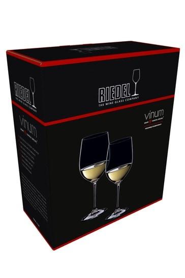 Set of 2 Riedel Vinum Viognier Chardonnay Wine Glasses