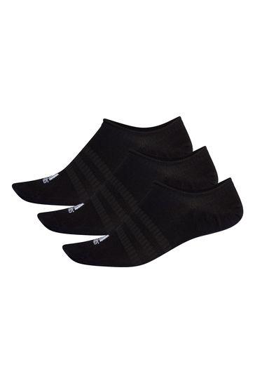 adidas Adult Black Trainer Socks Three Pack