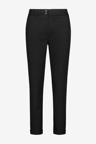 Black Chino Trousers